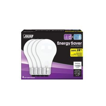 Energy Saving Halogen Bulb - 72 Watt - A19