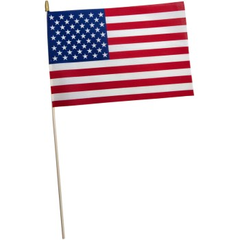 12in. X18in. Us Stick Flag