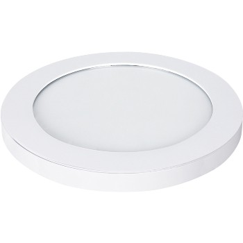 Led 11in. Wh Round Light