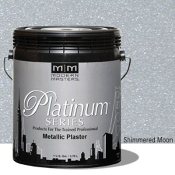 Plaster, Metallic  ~ Shimmered Moon/One Gallon