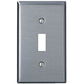 Ss Sgl Switch Plate