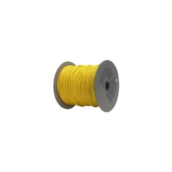 "Polypropylene Rope, Yellow Twisted ~ 1/2""x 600 Ft."