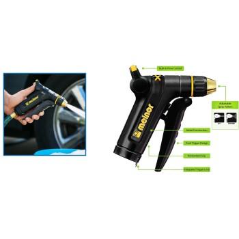 Melnor   XT300 Metal Adjustable Nozzle w/Front Trigger Hose Sprayer XT300