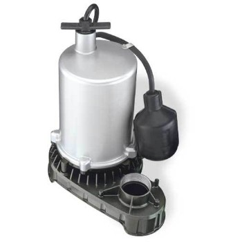 Submersible Sump Pump, 1/2 HP