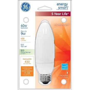 Energy Smart CFL Bulb - 9 watt