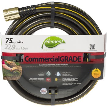 "Industrial Garden Hose ~ 5/8"" x 75 ft."