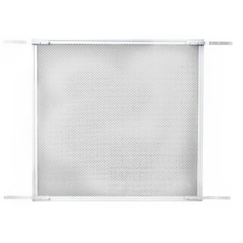 Screen & Storm Door Protective Grille,  White Finish Aluminum  ~  26""