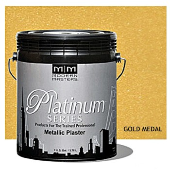 Plaster, Metallic ~ Gold Medal/Gallon