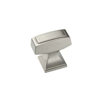 Knob - Satin Nickel Finish - 1.25 inch