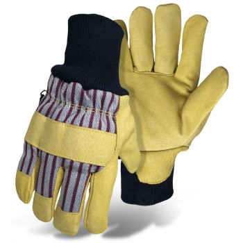 Med Leather Palm Glove