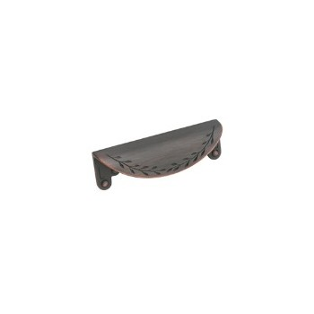 Cup Pull - Oil Rubbed Bronze Finish - 3 inch
