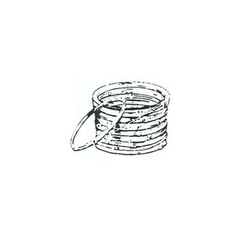 Galvanized Clothesline Wire - 20 Gauge - 50 feet