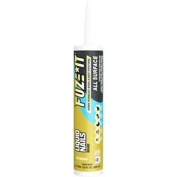 Ppg Architectural Finishes/Liq Nail LN-2000 Liquid Nails Fuze-It Adhesive ~ 9 oz