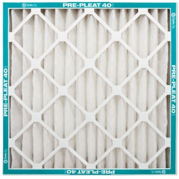 "AAF Flanders 80055.021420 Pre-Pleat 40 LPD Merv 8 Air Filters ~  14"" x 20"" x 2"""