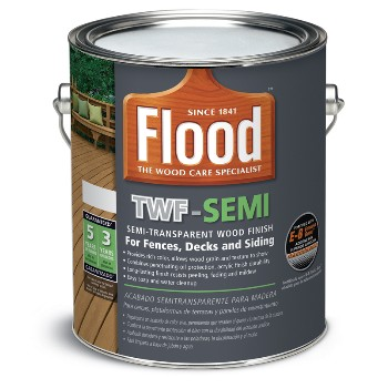 Semi transparent Deck & Siding Stain, LB ~ Gallon