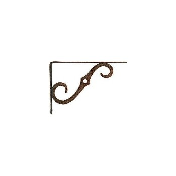 Ornamental Shelf Bracket, 8 x 5-1/2""