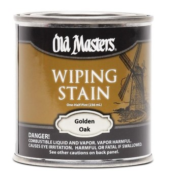 Wiping Wood  Stain, Golden Oak ~ Half Pint