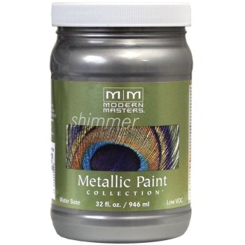 Metallic Paint, Pewter  ~ Quart