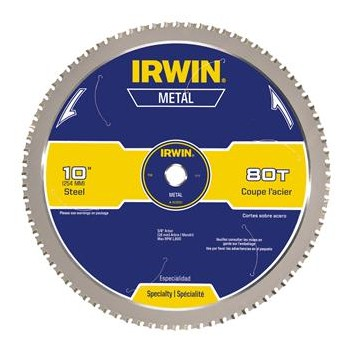 "Metal Cutting Combo Saw Blade ~ 10"" 80T"