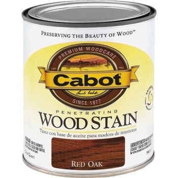 Penetrating Wood Stain,  Red Oak ~ Quart