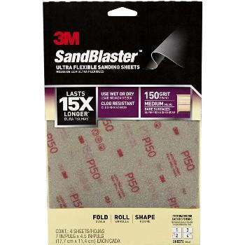 3M 28150SB-UF4 Sand Paper, 150g