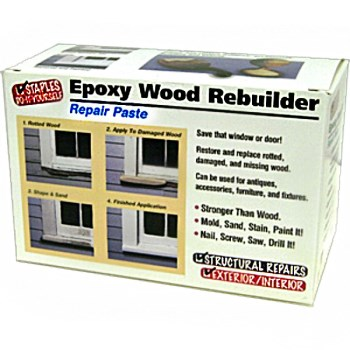 HF Staples  00403 Epoxy Wood Rebuilder  ~ 16 oz