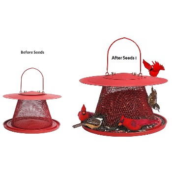 Perky Pet  No/No  Red Cardinal Wild Bird Feeder