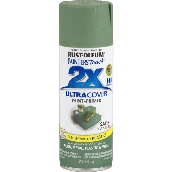 Rust-Oleum 249071 Ultra Cover 2X Spray ~ Moss Green Satin