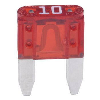 Automotive Mini Fuse, 10 Amp ~ Pack of 5