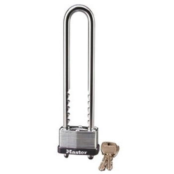 Adjustable Shackle Padlock, Warded