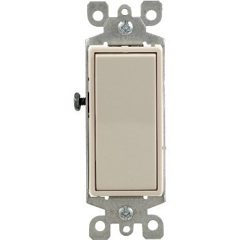 Non-Illiminated Decora Rocker Switch ~ Light Almond
