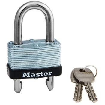 "MasterLock 510D Removable/Adjustable Shackle Lock, Warded ~ 1.75"""