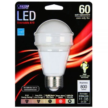 Dimmable LED Light Bulb ~ 9.5 watt