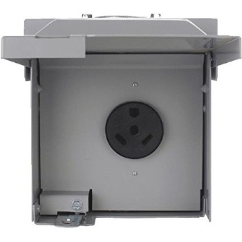 Eaton Corp CHU4S Unmetered Temporary 30 Amp Power Outlet Panel