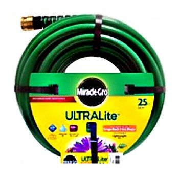 "Miracle-Gro  MGUL12025 Ultra Lite Hose ~ 1/2"" x 25 Ft"