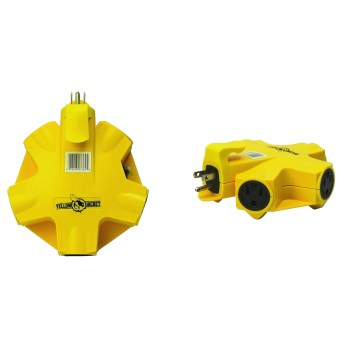 Yellow Jacket® 5-Outlet Adapter ~  15A