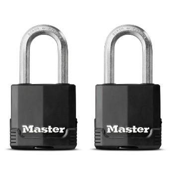MasterLock M115XTLFHC 2pk 1-3/4in. Padlock