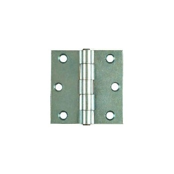 Non Removable Pin Hinge, Zinc ~ 2 1/2""