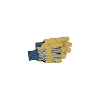 Pigskin Leather Palm Gloves - Insulated- Large
