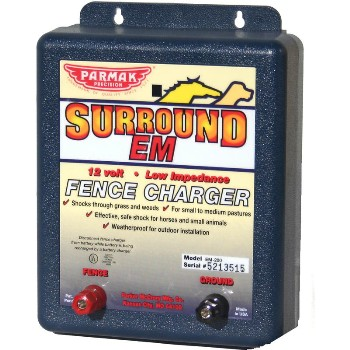 Surround Em Fence Charger ~ 12 Volt
