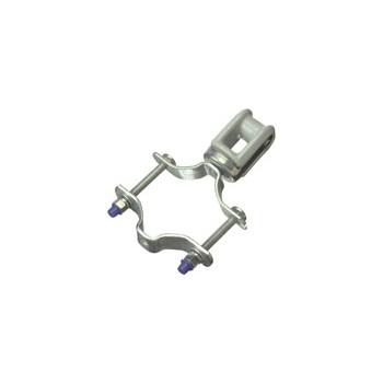 """Halex  60525 Adjustable Porcelain Wireholder, 1-1/4-3"""""""
