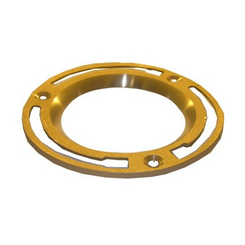 333730 4in. Brs Lead Clst Flange