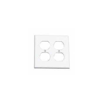 2g Outlet Plate Wht
