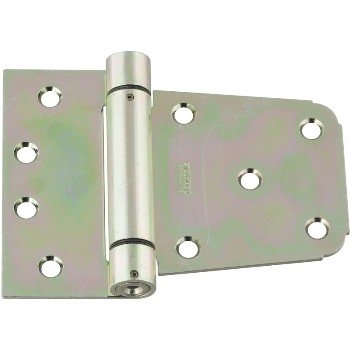 Auto Close Gate Hinge, Zinc ~ 3 1/2""