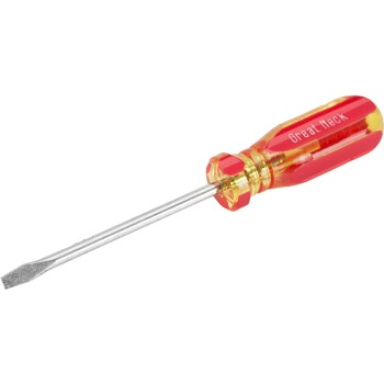 "Slotted Screwdriver, Round Shank ~ 1/8"" x 3"""