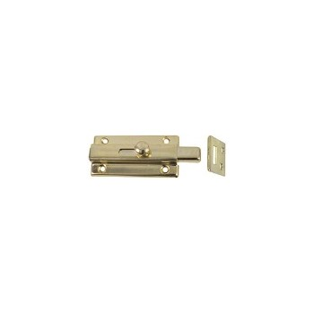Brass Slide Bolt, Visual Pack 860