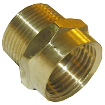 Garden Hose Adapter, Male x Female ~ 3/4""