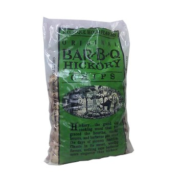 21st Century B4243 Hickory Wood Chips for BBQ - 2 pound bag