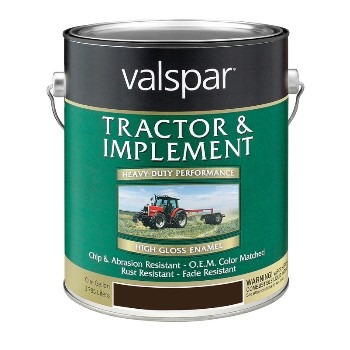 Valspar/McCloskey 18-4431-19-07 Tractor and Implement Paint, Black ~ Gallon