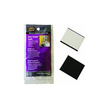 Door Corner Seal ~ Brown